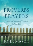 Proverbs Prayers eBook