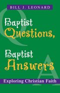 Baptist Questions, Baptist Answers eBook
