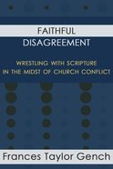 Faithful Disagreement eBook