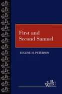 First and Second Samuel (Westminster Bible Companion Series) eBook
