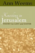 Kneeling in Jerusalem eBook