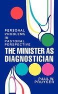 The Minister as Diagnostician eBook