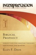 Biblical Prophecy (Interpretation Bible Study Series) eBook