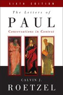 The Letters of Paul, Sixth Edition eBook