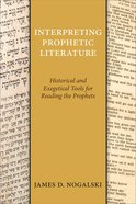 Interpreting Prophetic Literature eBook