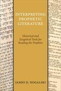 Interpreting Prophetic Literature eBook