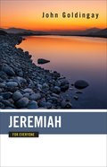 Jeremiah For Everyone (Old Testament Guide For Everyone Series) eBook