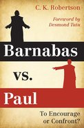 Barnabas Vs. Paul eBook