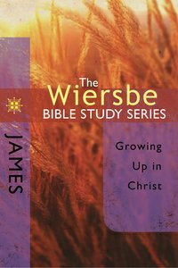 James (Wiersbe Bible Study Series)