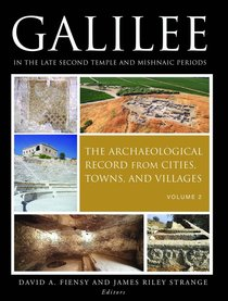 Galilee in the Late Second Temple and Mishnaic Periods (2 Vol Set)