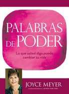 Palabras De Poder (Power Words) Hardback