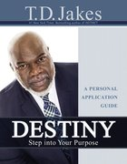 Destiny Personal Application Guide Paperback