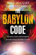 The Babylon Code Hardback