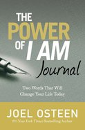 Journal: The Power of I Am Hardback
