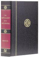 Greek-English Septuagint With Apocrypha