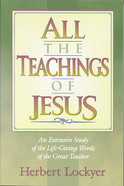 All the Teachings of Jesus (Henderson All Series) Paperback