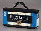 KJV Scourby Bible on Audio CD Voice Only
