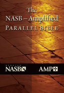 Nasb-Amplified Parallel Bible Black Bonded Leather