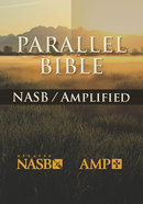Nasb-Amplified Parallel Bible Burgundy Bonded Leather