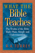 What the Bible Teaches Paperback