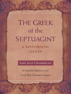 The Greek of the Septuagint: A Supplemental Lexicon Hardback