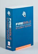 NIV Fire Bible Student Edition Paperback