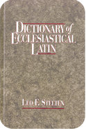Dictionary of Ecclesiastical Latin eBook