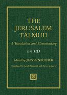 The Jerusalem Talmud Cd-rom