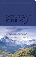 Morning and Evening: NIV Edition (Blue)