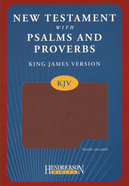KJV New Testament With Psalms and Proverbs Espresso
