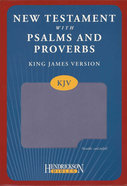 KJV New Testament With Psalms and Proverbs Lilac
