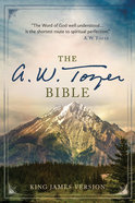 KJV a W Tozer Bible Thumb Indexed (Red Letter Edition) Hardback