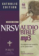 NRSV Audio Bible MP3 (Catholic Edition) (With Apocrypha) CD