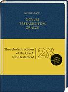 Novum Testamentum Graece Nestle-Aland 28Th Edition Blue Flexibind (Na28) (Novum Testamentum Graece Series) Flexi Back