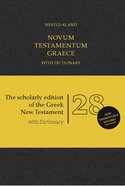 Novum Testamentum Graece Nestle-Aland 28Th Edition With Dictionary (Na28) (Novum Testamentum Graece Series) Hardback