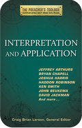 Interpretation and Application (#03 in The Preacher's Toolbox Series) eBook