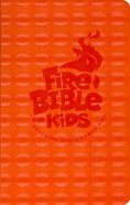 NKJV Fire Bible For Kids Orange Flexisoft Imitation Leather