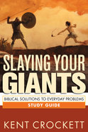 Slaying Your Giants (Study Guide) Paperback