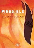 ESV Fire Bible Student Edition Brass Brown/Chestnut Flexisoft Imitation Leather