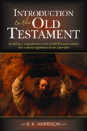 Introduction to the Old Testament Paperback