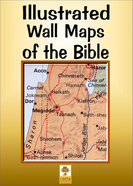 Illustrated Wall Maps of the Bible Poster