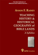Teaching History & Historical Geography of Bible Lands Paperback