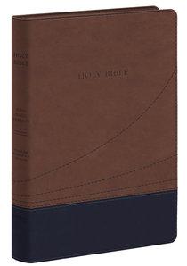 KJV Large Print Thinline Reference Bible Cocoa/Black