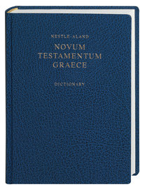 Nestle-Land Novum Testamentum Graece 27 With Revised Greek-English Dictionary (Na27)