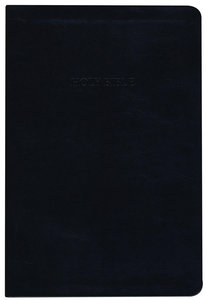 KJV Large Print Thinline Reference Bible Black