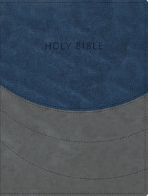 KJV Ministry Essentials Bible Blue/Gray