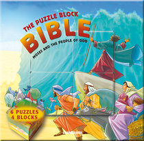 Moses and the People of God (Puzzle Block Bible Series)