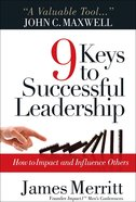 9 Keys to Successful Leadership Paperback