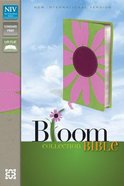 NIV Thinline Bloom Collection Pink Daisy (Red Letter Edition)