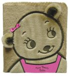 Tiny Bear's Bible Faux Fur (Pink) Board Book